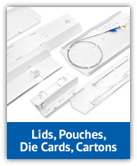 Lids, Pouches, Die Cards and Cartons