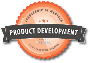 "Nelipak is proud to be Medical Design & Outsourcing's ""Leadership in Medtech 2018"" winner for Product Development."